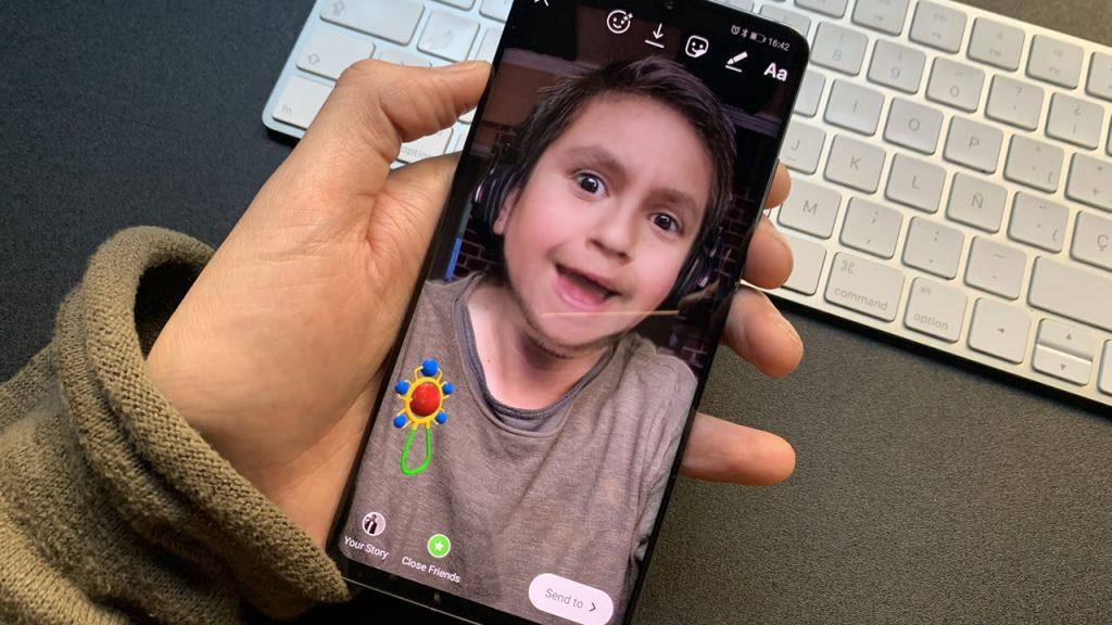Snapchat Filtro bebe